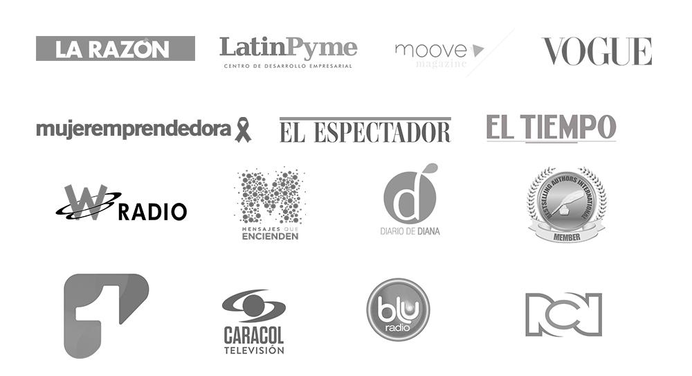 logos donde aparece Ximena Duque valencia