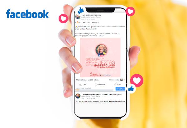 facebook youtube ximena duque valencia
